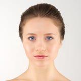 Передняя женщина портрета Стоковые Изображения RF
