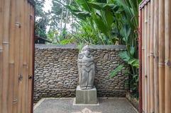 Передняя статуя стоковая фотография rf