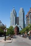 Передняя улица восточный Торонто стоковая фотография rf