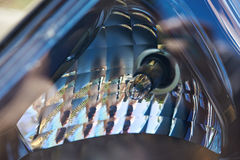Передняя фара автомобиля шарика Стоковая Фотография