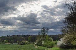 Перед штормом весны Стоковое Изображение RF