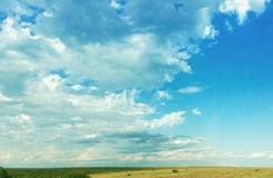 Перед штормом Rolls внутри Стоковая Фотография RF