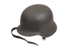 Период Второй Мировой Войны шлема немецкой армии Стоковое Изображение RF