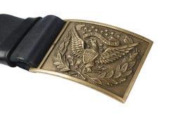 Период гражданской войны пряжки пояса армии США Стоковые Фотографии RF