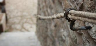 Перила веревочки Стоковая Фотография