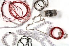 перла ожерелья Стоковая Фотография