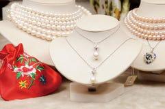перла ожерелья стоковые изображения rf