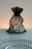перла ожерелья pearls вкладыш Стоковая Фотография
