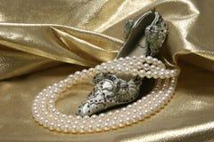 перла ожерель Стоковые Фотографии RF