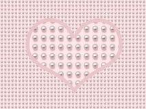 перла сердца Стоковое фото RF