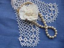 перла шнурка Стоковые Изображения RF