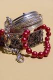 перлы браслета стоковое изображение rf