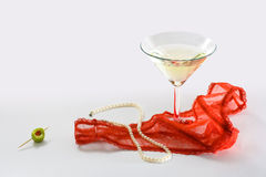перлы похоти шнурка Стоковая Фотография