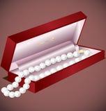 перлы подарка Стоковые Фотографии RF