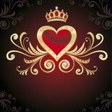 перлы сердца диамантов Стоковое Изображение RF