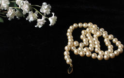 перлы цветков Стоковые Фото
