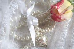 перлы n шнурка стоковая фотография rf