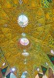 Персидские куполы в базаре Тегерана грандиозном Стоковое фото RF