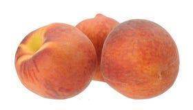 3 персика Стоковые Изображения