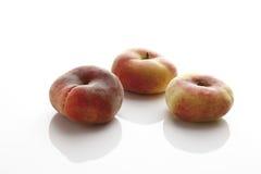 Персики горы (Prunus Persica var platycarpa) Стоковое фото RF