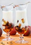 персики коктеила свежие Стоковые Фото