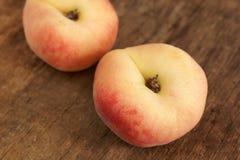 Персики донута Стоковые Фотографии RF