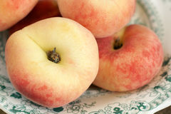 Персики донута Стоковые Изображения