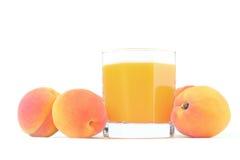 персики сока Стоковое Изображение