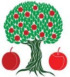 Персиковое дерево Стоковые Фотографии RF
