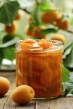 персик варенья абрикоса стоковые изображения