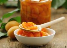 персик варенья абрикоса стоковые фото