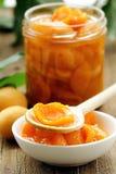 персик варенья абрикоса стоковое фото rf