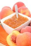 персик варенья Стоковое Изображение RF