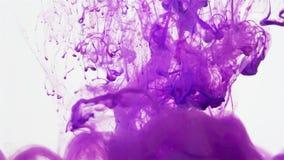 Персик и фиолет покрасили жидкостное смешивание под водой