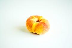 Персик донута изолированный на белизне Стоковые Фотографии RF