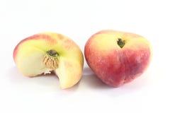 Персик донута Стоковые Изображения
