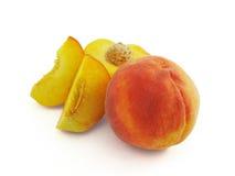персик плодоовощ сочный Стоковые Фотографии RF