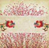 персик цветка цветения Стоковые Фотографии RF