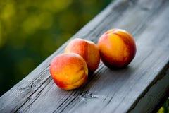 Персик стоковая фотография