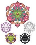 Персидский орнамент Стоковая Фотография RF