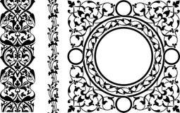 Персидский орнамент Стоковое Изображение