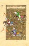 перское поло игроков иллюстрация штока