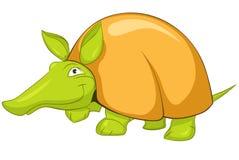 персонаж из мультфильма броненосца Стоковые Изображения RF