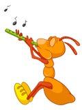 персонаж из мультфильма муравея иллюстрация вектора