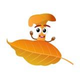 Персонаж из мультфильма гриба Стоковое Изображение