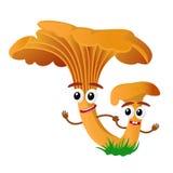Персонаж из мультфильма гриба Стоковые Изображения
