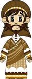 Персонаж из мультфильма Иосиф библейский Стоковое Изображение