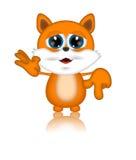 Персонаж из мультфильма Мультяшки иллюстрации кота Марвина Стоковые Изображения RF