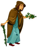 Персонаж из мультфильма сказки - иллюстрация для детей Стоковая Фотография