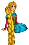 Персонаж из мультфильма сказки - иллюстрация для детей Стоковая Фотография RF